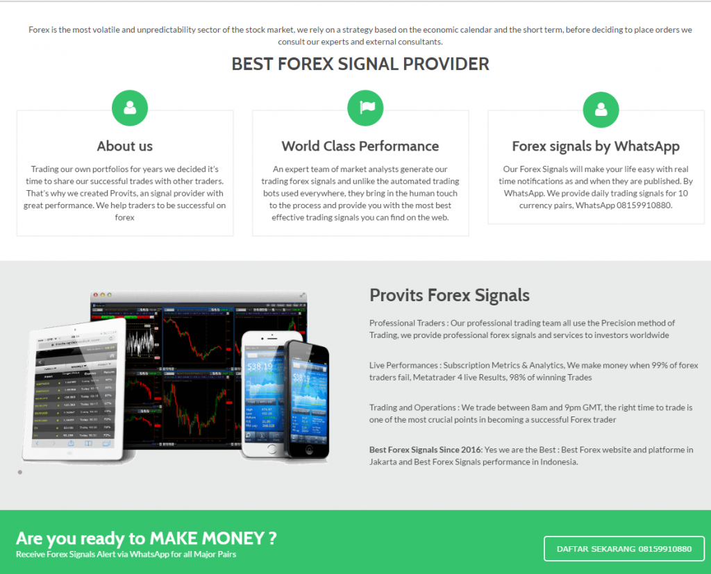 Signal forex terbaik carigold