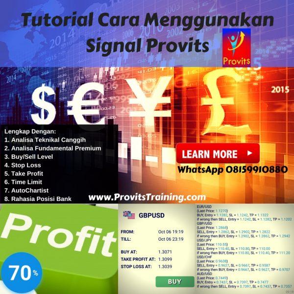 Tutorial Cara Menggunakan Signal Provits