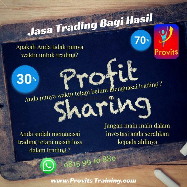 Jasa Trading Bagi Hasil