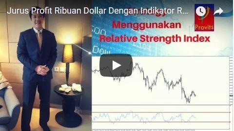 Jurus Profit Ribuan Dolar Dengan Indikator Relative Strength Index