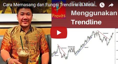 Cara Memasang dan Fungsi Trendline di MetaTrader