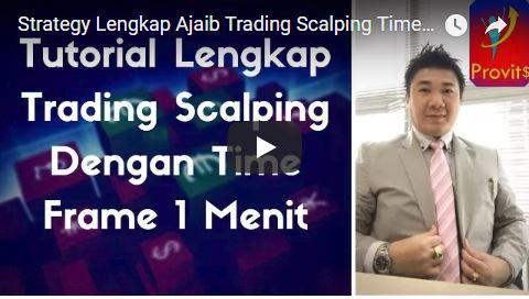 Strategi Lengkap Ajaib Trading Scalping Time Frame Satu Menit