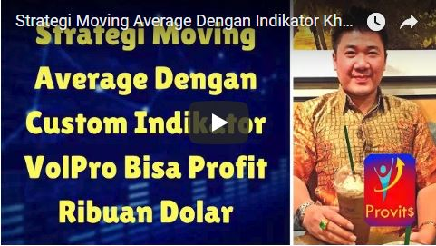 Strategi Moving Average Dengan Indikator Khusus VolPro