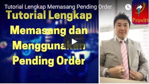 Tutorial Lengkap Memasang Pending Order