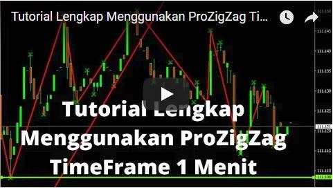 Tutorial Lengkap Menggunakan ProZigZag TimeFrame 1 Menit