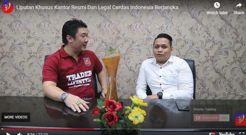 Liputan Khusus Kantor Resmi dan Legal Cerdas Indonesia Berjangka