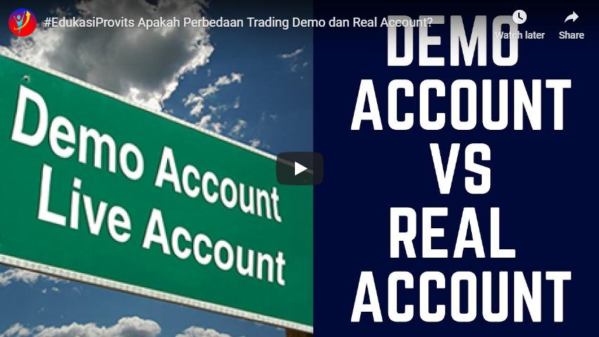 Apakah Perbedaan Trading Demo dan Real Account?