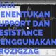 Cara Menentukan Support dan Resistance Dengan ProZigZag
