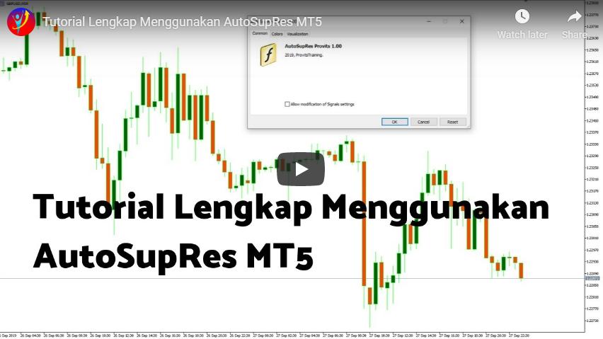 Tutorial Lengkap Menggunakan AutoSupRes MT5